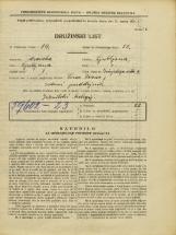 Popis prebivalstva 31. 3. 1931<br />Ljubljana<br />Zrinjskega cesta 9<br />Population census 31 March 1931