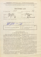 Popis prebivalstva 31. 3. 1931<br />Ljubljana<br />Osebe brez bivališča NN5<br />Population census 31 March 1931