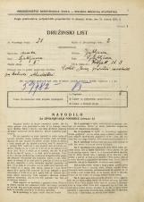 Popis prebivalstva 31. 3. 1931<br />Ljubljana<br />Žabjak 3<br />Population census 31 March 1931