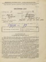 Popis prebivalstva 31. 3. 1931<br />Ljubljana<br />Žabjak 7<br />Population census 31 March 1931