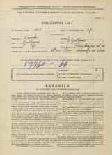 Popis prebivalstva 31. 3. 1931<br />Ljubljana<br />Železnikarjeva ulica 10<br />Population census 31 March 1931