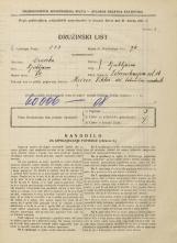 Popis prebivalstva 31. 3. 1931<br />Ljubljana<br />Železnikarjeva ulica 14<br />Population census 31 March 1931