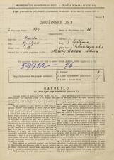 Popis prebivalstva 31. 3. 1931<br />Ljubljana<br />Železnikarjeva ulica 5<br />Population census 31 March 1931