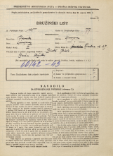 Popis prebivalstva 31. 3. 1931<br />Ljubljana<br />Žibertova ulica 29<br />Population census 31 March 1931