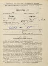 Popis prebivalstva 31. 3. 1931<br />Ljubljana<br />Žibertova ulica 30<br />Population census 31 March 1931