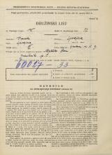 Popis prebivalstva 31. 3. 1931<br />Ljubljana<br />Žibertova ulica 9<br />Population census 31 March 1931