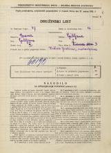 Popis prebivalstva 31. 3. 1931<br />Ljubljana<br />Židovska steza 3<br />Population census 31 March 1931