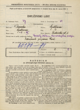 Popis prebivalstva 31. 3. 1931<br />Ljubljana<br />Židovska ulica 5<br />Population census 31 March 1931