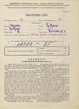 Popis prebivalstva 31. 3. 1931<br />Ljubljana<br />Židovska ulica 8<br />Population census 31 March 1931