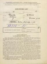 Popis prebivalstva 31. 3. 1931<br />Ljubljana<br />Žitnikova ulica 10<br />Population census 31 March 1931