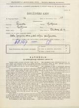 Popis prebivalstva 31. 3. 1931<br />Ljubljana<br />Žitnikova ulica 17<br />Population census 31 March 1931