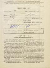 Popis prebivalstva 31. 3. 1931<br />Ljubljana<br />Žitnikova ulica 18<br />Population census 31 March 1931