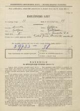 Popis prebivalstva 31. 3. 1931<br />Ljubljana<br />Zvonarska ulica 11<br />Population census 31 March 1931