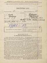 Popis prebivalstva 31. 3. 1931<br />Ljubljana<br />Zvonarska ulica 3<br />Population census 31 March 1931