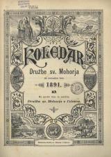 Koledar Družbe sv. Mohorja: za navadno leto 1891