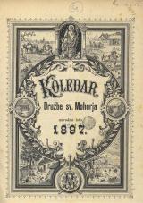 Koledar Družbe sv. Mohorja: za navadno leto 1897