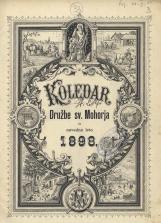 Koledar Družbe sv. Mohorja: za navadno leto 1898