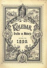 Koledar Družbe sv. Mohorja: za navadno leto 1899