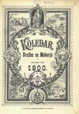 Koledar Družbe sv. Mohorja: za navadno leto 1900