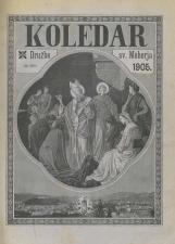 Koledar Družbe sv. Mohorja: za navadno leto 1905