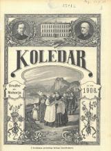 Koledar Družbe sv. Mohorja: za navadno leto 1906