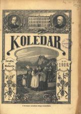 Koledar Družbe sv. Mohorja: za navadno leto 1909