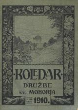 Koledar Družbe sv. Mohorja: za navadno leto 1910