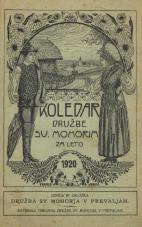 Koledar Družbe sv. Mohorja: za leto 1920