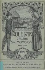 Koledar Družbe sv. Mohorja: za leto 1921