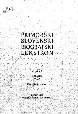 Primorski slovenski biografski leksikon<br />20. snopič<br />dodatek M - Ž