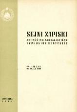 Sejni zapiski Skupščine Socialistične republike Slovenije<br />Seje od 1. XII. do 31. XII. 1963