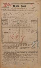 Popis prebivalstva 20. 12. 1921<br />Ljubljana<br />Aleksandrova cesta 10<br />Population census 20 December 1921
