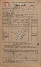 Popis prebivalstva 20. 12. 1921<br />Ljubljana<br />Aleksandrova cesta 15<br />Population census 20 December 1921