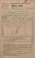 Popis prebivalstva 20. 12. 1921<br />Ljubljana<br />Aleksandrova cesta 26<br />Population census 20 December 1921