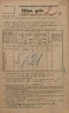 Popis prebivalstva 20. 12. 1921<br />Ljubljana<br />Aleksandrova cesta 3<br />Population census 20 December 1921