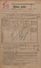 Popis prebivalstva 20. 12. 1921<br />Ljubljana<br />Aleksandrova cesta 5<br />Population census 20 December 1921