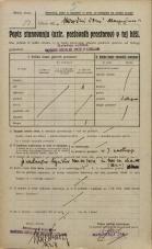 Popis prebivalstva 20. 12. 1921<br />Ljubljana<br />Aleksandrova cesta NN3<br />Population census 20 December 1921