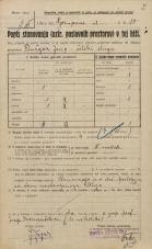 Popis prebivalstva 20. 12. 1921<br />Ljubljana<br />Aškerčeva ulica - Gorupova ulica 10<br />Population census 20 December 1921