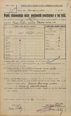 Popis prebivalstva 20. 12. 1921<br />Ljubljana<br />Aškerčeva ulica - Gorupova ulica 12<br />Population census 20 December 1921