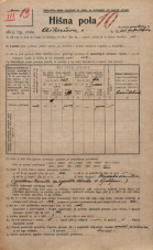 Popis prebivalstva 20. 12. 1921<br />Ljubljana<br />Aškerčeva ulica NN4<br />Population census 20 December 1921