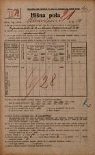 Popis prebivalstva 20. 12. 1921<br />Ljubljana<br />Bleiweisova cesta 10<br />Population census 20 December 1921