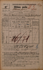Popis prebivalstva 20. 12. 1921<br />Ljubljana<br />Bleiweisova cesta 13<br />Population census 20 December 1921