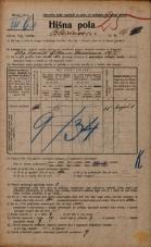 Popis prebivalstva 20. 12. 1921<br />Ljubljana<br />Bleiweisova cesta 16<br />Population census 20 December 1921