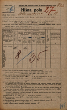 Popis prebivalstva 20. 12. 1921<br />Ljubljana<br />Bleiweisova cesta 18<br />Population census 20 December 1921