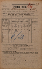 Popis prebivalstva 20. 12. 1921<br />Ljubljana<br />Bleiweisova cesta 21<br />Population census 20 December 1921