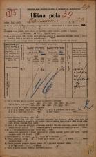 Popis prebivalstva 20. 12. 1921<br />Ljubljana<br />Bleiweisova cesta 23<br />Population census 20 December 1921