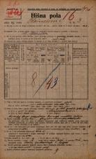 Popis prebivalstva 20. 12. 1921<br />Ljubljana<br />Bleiweisova cesta 3<br />Population census 20 December 1921