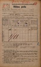 Popis prebivalstva 20. 12. 1921<br />Ljubljana<br />Bleiweisova cesta 32<br />Population census 20 December 1921