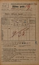 Popis prebivalstva 20. 12. 1921<br />Ljubljana<br />Bleiweisova cesta 7<br />Population census 20 December 1921