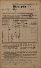 Popis prebivalstva 20. 12. 1921<br />Ljubljana<br />Breg 10<br />Population census 20 December 1921